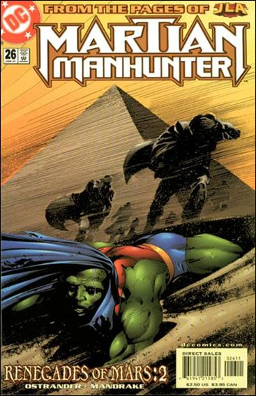 Martian Manhunter (1998) 26-A by DC