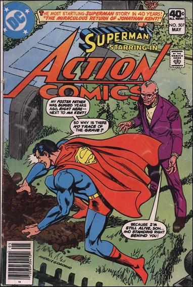 Action Comics (1938) 507-A by DC