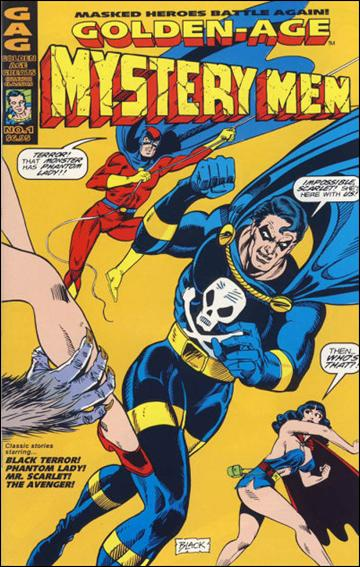 Golden Age Mystery Men 1-A by AC