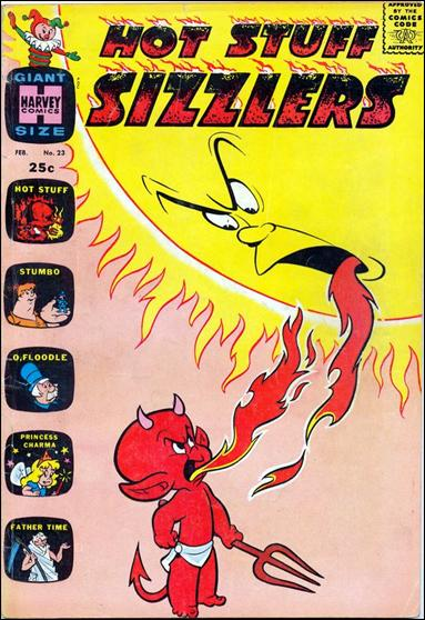 Hot Stuff: Sizzlers (1960) 23-A by Harvey