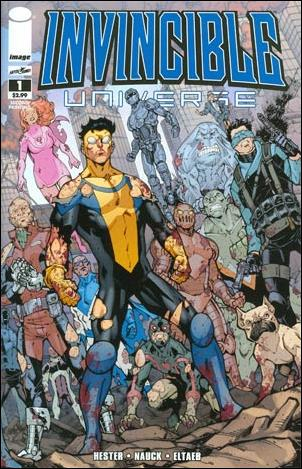 Invincible Universe 1-B by Image