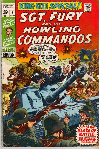 Sgt. Fury and His Howling Commandos Annual 6-A by Marvel