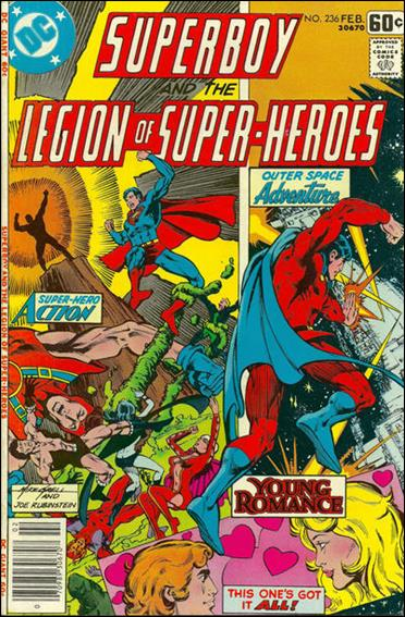 Superboy and the Legion of Super-Heroes 236-A by DC