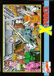 X-Force (Comic Insert Promo) 5-A by Impel