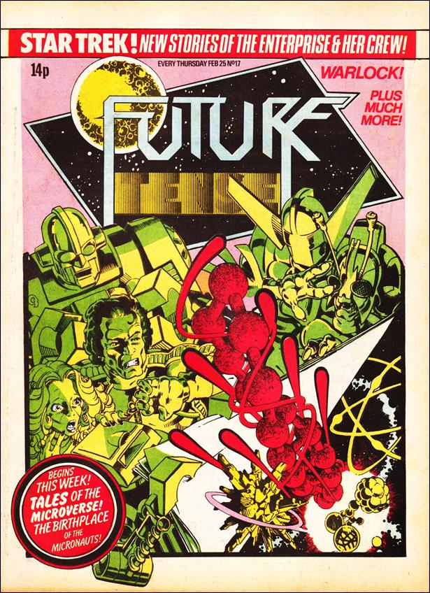 Future Tense (UK) 17-A by Marvel UK