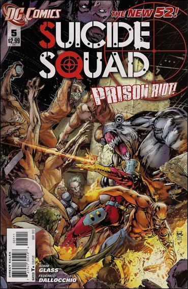 Suicide Squad (2011) 5-A by DC