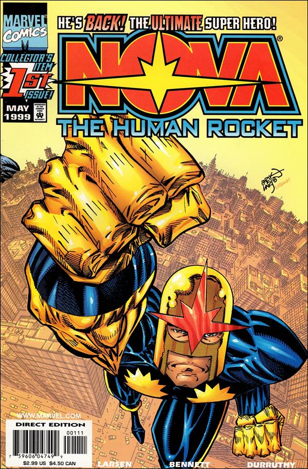 Nova (1999) 1-A by Marvel