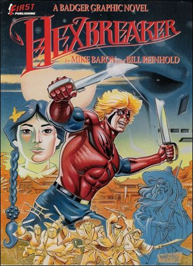 Hexbreaker: A Badger Graphic Novel nn-A by First
