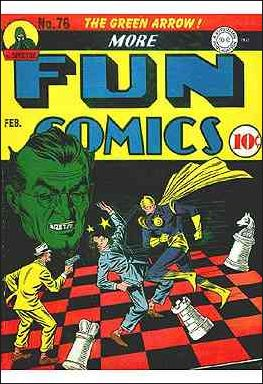 More Fun Comics 76-A by DC