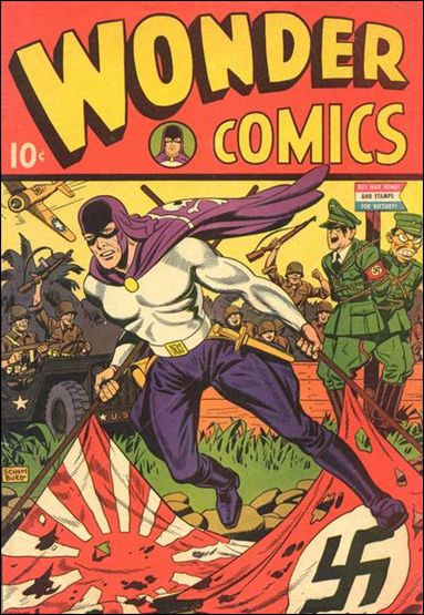 Wonder Comics (1944) 1-A by Better Publications