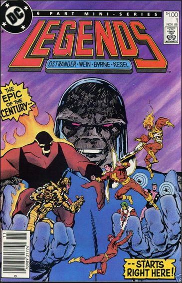 Legends (1986) 1-B by DC