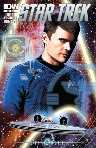 Star Trek (2011) 34-A by IDW