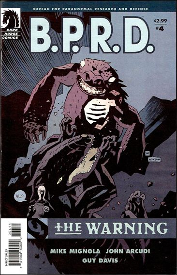 B.P.R.D.: The Warning 4-A by Dark Horse