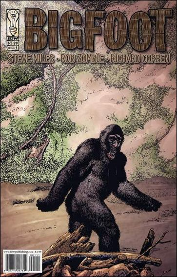 Bigfoot 1-A by IDW