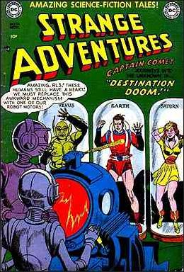 Strange Adventures (1950) 14-A by DC