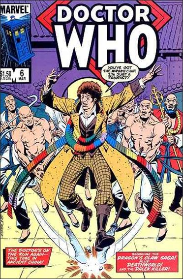 Doctor Who (1984) 6-A by Marvel