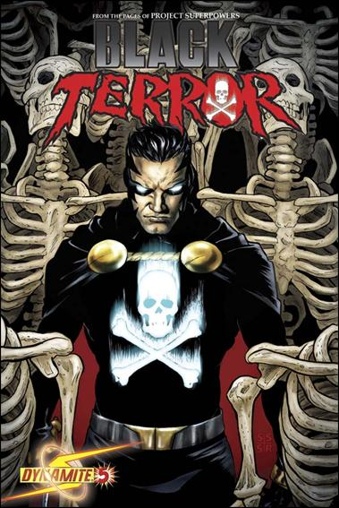 Black Terror (2008) 5-C by Dynamite Entertainment