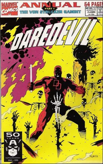 Daredevil Annual 7-A by Marvel
