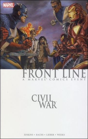 Civil War: Front Line (2007) 1-A by Marvel