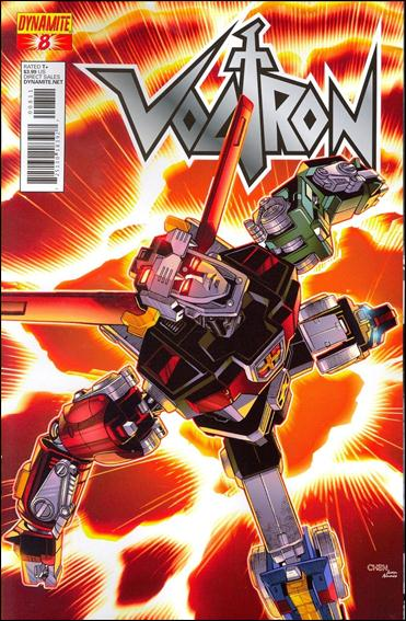 Voltron (2011) 8-A by Dynamite Entertainment