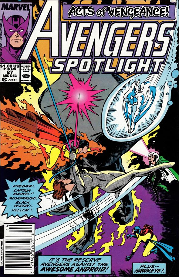 Avengers Spotlight 27-A by Marvel