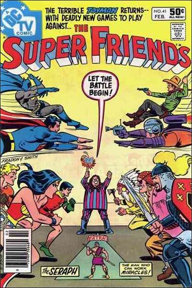 Super Friends (1976) 41-A by DC