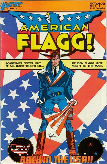 American Flagg! (1983) 1-A by First