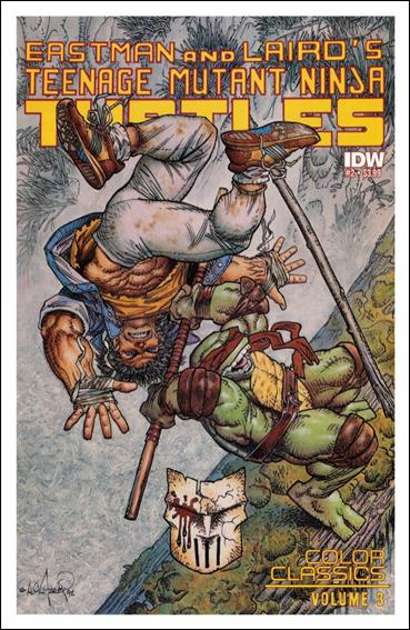 Teenage Mutant Ninja Turtles Color Classics Vol. 03 2-A by IDW