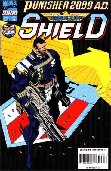 Punisher 2099 (1993) 29-A by Marvel