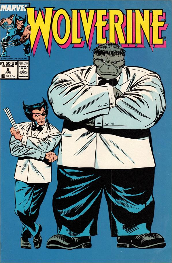 Wolverine (1988)  8-A by Marvel