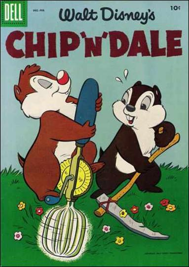 Walt Disney's Chip 'n' Dale 4-A by Dell