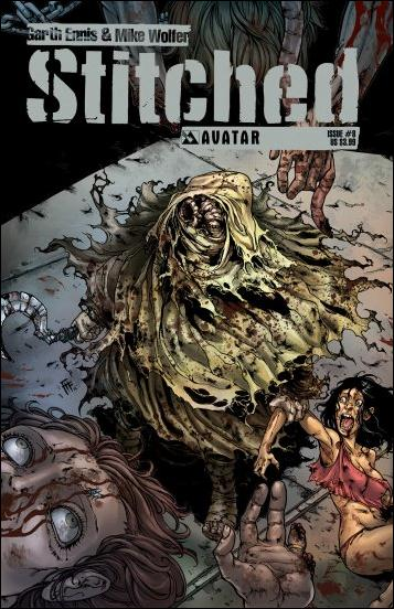 Stitched 8-A by Avatar Press