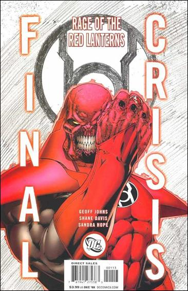Final Crisis: Rage of the Red Lanterns 1-D by DC