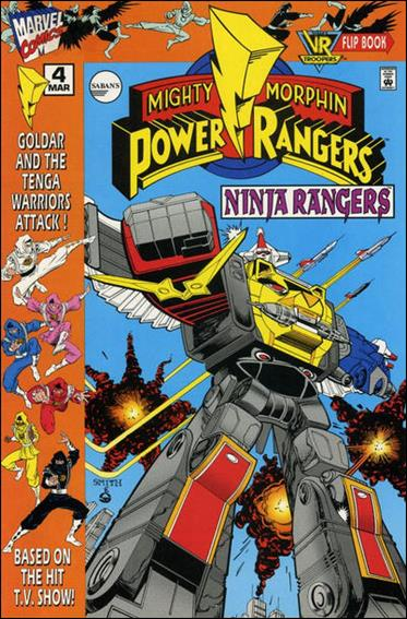 Mighty Morphin Power Rangers: Ninja Rangers/VR Troopers 4-A by Marvel