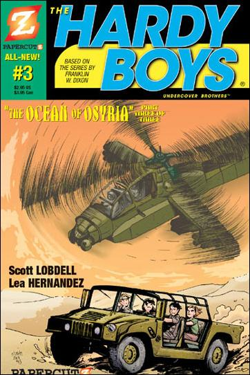 Hardy Boys (2005) 3-A by Papercutz