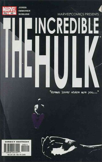 Incredible Hulk (2000)  45-A by Marvel