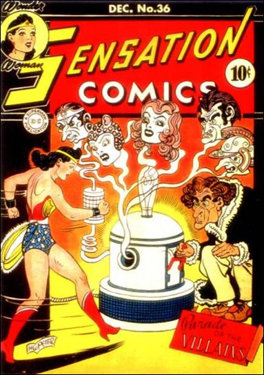 Sensation Comics (1942) 36-A by DC