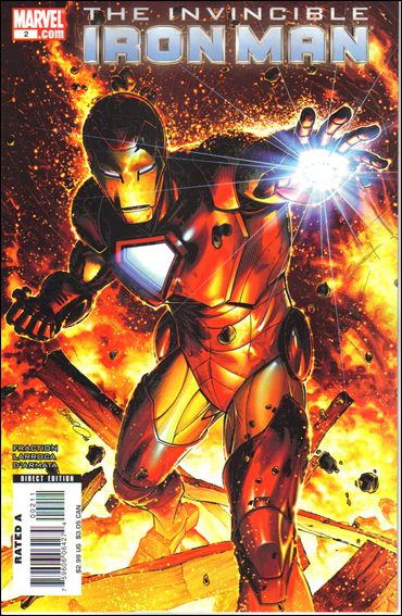 Invincible Iron Man (2008) 2-B by Marvel