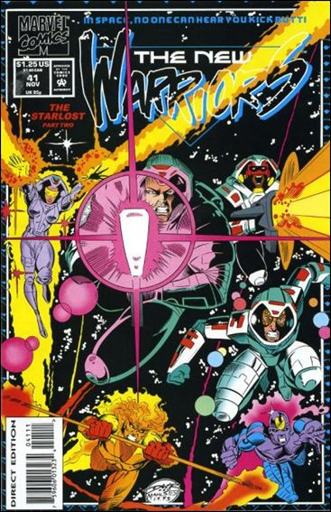 New Warriors (1990) 41-A by Marvel