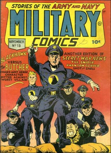 Military Comics 13-A by Comic Magazines