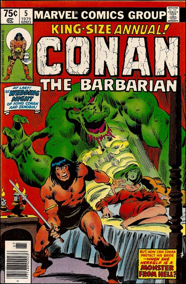 Conan Annual 5-A by Marvel