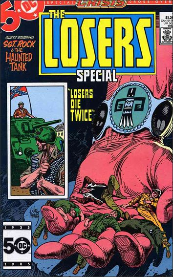 Losers Special 1-A by DC