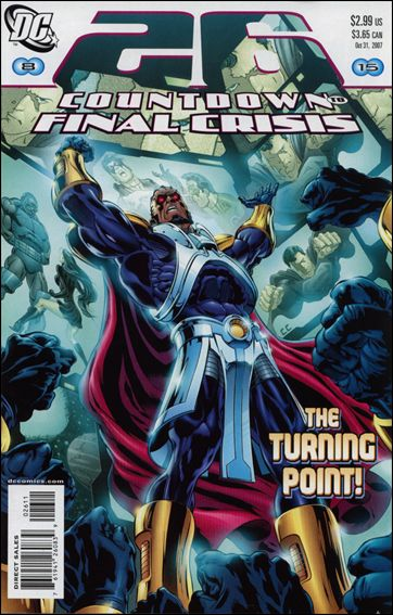 Countdown (2007) 26-A by DC