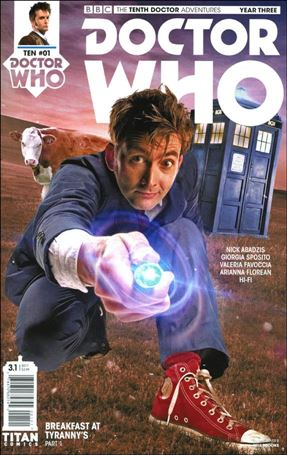 Doctor Who: The Tenth Doctor Year Three 1-B