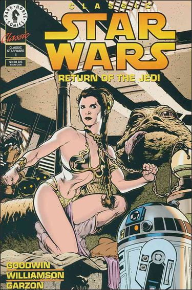 Classic Star Wars: Return of the Jedi 1-A by Dark Horse