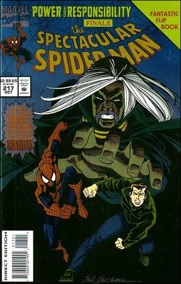 Spectacular Spider-Man (1976) 217-A by Marvel