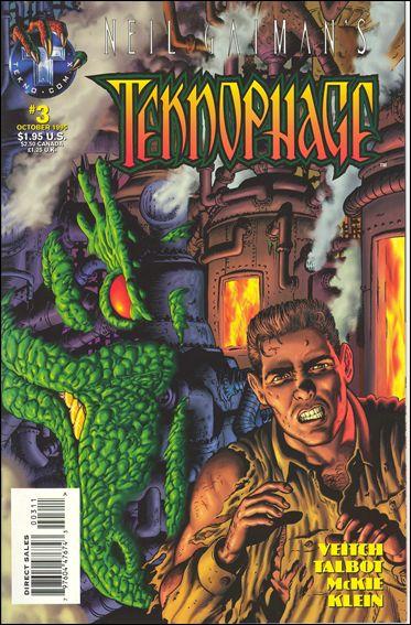 Neil Gaiman's Teknophage 3-A by Tekno•Comix