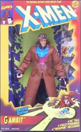 "X-Men Deluxe Edition 10"" Action Figures Gambit by Toy Biz"