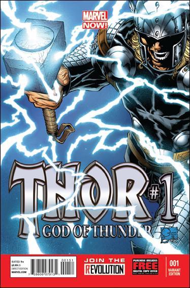 Thor: God of Thunder 1-D by Marvel