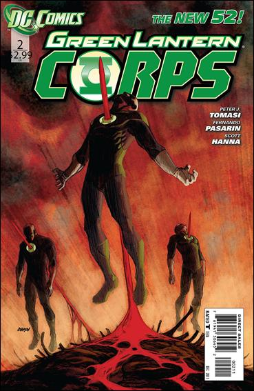 Green Lantern Corps (2011) 2-A by DC